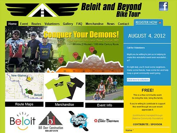 Beloit Bike Tour   Event Marketer